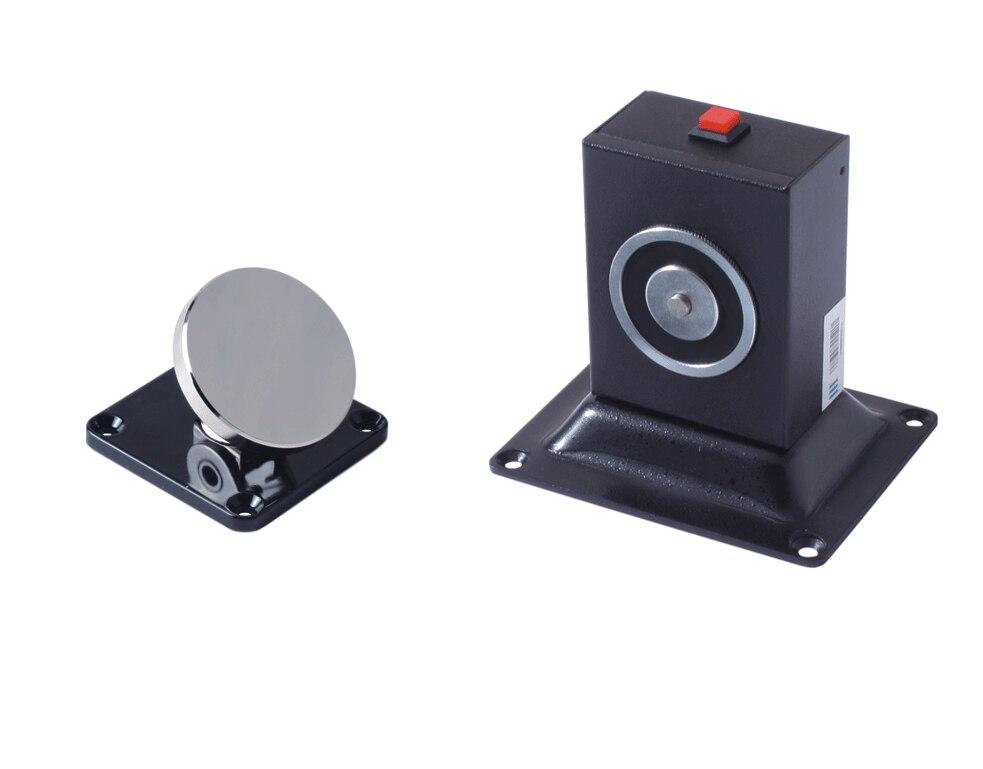 Fire Equipment Wall &amp; Floor Mount Adjustable Type Electromagnetic Door Holder, Electric Door Stopper<br>