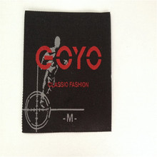 Custom Brand  Garment  Label  High Density Woven Label For Clothing