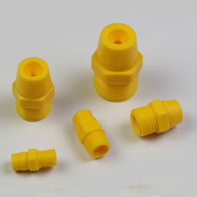 "( 20 pcs/lot ) 1/8"" 1/4"" 3/8"" 1/2"" 3/4""Plastic solid full cone spray nozzle,Industrial / factory cleaning, dust removal nozzle"