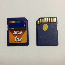 Standard 1GB SD Card 1gb sd Memory Card with free card case