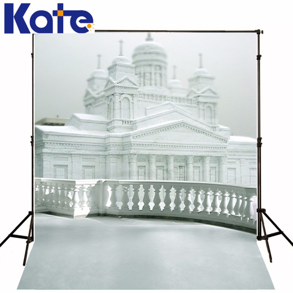 New Arrival Background Fundo White Building Pillars 6.5 Feet Length With 5 Feet Width Backgrounds Lk 3627<br>
