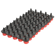 "50pcs / Lot Adjustable Garden Irrigation Misting Micro Flow Dripper Head Drip System On 1/4"" Barb watering Free Shipping"