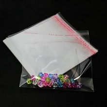 Top Quality 200pcs 100pcs Multi Sizes Option Packaging Plastic Package Bags Self Adhesive Seal Storage Bag