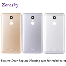 Silver/Gray/Gold Case Back Cover Battery Door Housing Replacement Part For xiaomi Redmi Note 3 Note3 Pro