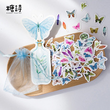 100 pcs/lot cute Nature Collection mini paper sticker package DIY diary decoration sticker album scrapbooking kawaii stationery