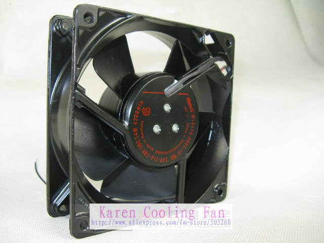 EBM PAPST 12cm 12038 24V 14W 0.58a W1G110-AG03-10 Inverter cooling Fan<br>