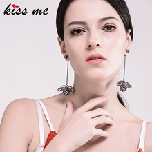 Buy KISS ME Personalized Acrylic Spider Insect Long Earrings Women Punk Vintage Drop Earrings Fashion Jewelry for $2.24 in AliExpress store