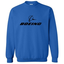autumn hoodies men brand hoody 2017 new BOEING AEROPLANE LOGO Sweatshirts(China)