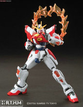 Free Shipping Bandai HGBF 018 Build Burning Gundam Scale Model