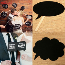 10Pcs DIY Photo Props Mr Mrs Photo Booth Props Love DIY on A Stick Photography Wedding Decoration Party for Fun Favor Photobooth
