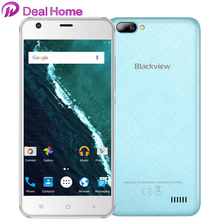 Blackview A7  Dual back lens Smartphone Google Android 7.0 MT6580A Quad Core 1.3Ghz Mobile Phone 1GB+8GB Unlocked Cell Phone