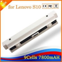 11.1V 7800mAh 9cell High Performance Notebook Laptop Battery for Lenovo S10(China)