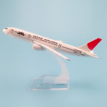 16cm Alloy Metal Air JAL Japan Airlines Model Boeing 777 B777 Airlines Plane Model  Aircraft Free Shipping