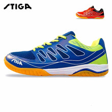 2017 stiga new table tennis shoes sports shoes sneakers for men women comfortable breathable professional sports shoes