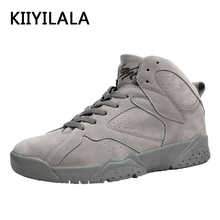 Buy KIIYILALA Nubuck Basketball Shoes Winter Warm Breathable Nubuck Basketball Anti-Slip Cool Men Flat Heel Sports Shoes for $24.90 in AliExpress store