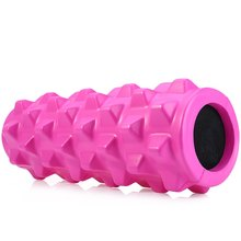 Exercise Massage Yoga Roller Gym Cure Trigger Point PU EVA Yoga Pilates Fitness Foam Roller Physio Block with PU Outer Package
