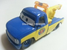 Pixar Cars Race Tow Truck Tom Metal Diecast Toy Car 1:55 Loose Brand New In Stock & Free Shipping