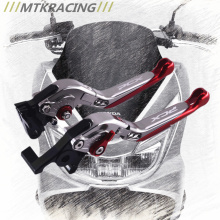 MTKRACING CNC For Honda PCX 125/150 all years Motorcycle Accessories Foldable Extending Brake Clutch Levers