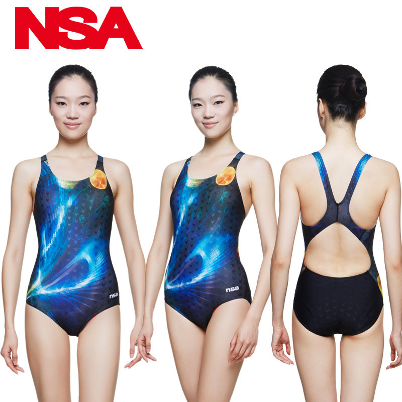 2016 New Style Women One Piece Swimsuit High quality Professional Training Swimwear For Pool Bathing Suit<br>