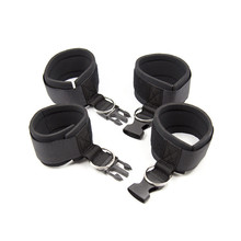 Buy Sexy Adjustable Nylon Erotic Toys Sex Handcuffs Ankle Cuff Bondage Sex Toys Restraints BDSM Sex Bondage Exotic Accessories