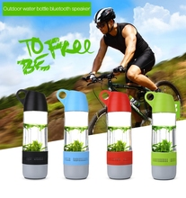 Water Bottle Design IP*4 Waterproof Wireless Bluetooth Speaker Stereo Sound Outdoor Bicycle Speaker For Xiaomi Samsung iPhone