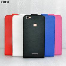 CIDI For BQ BQ-5521 Strike Power Max Case Cover PU Leather Flip Flap Up and Down / Silk Pattern Phone Case For BQ 5521(China)