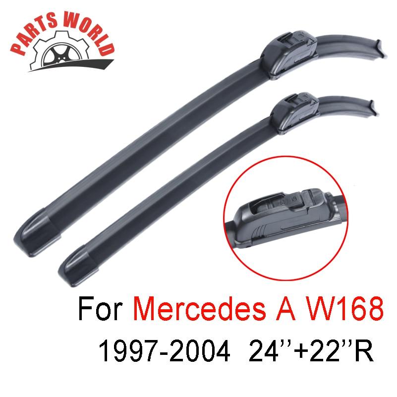 24''+22''R Front Wiper Blade Mercedes Benz W168 1997-2004,Windscreen Wiper Mercedes Car Accessories clean windshield