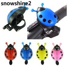 snowshine2 #3001 Funny bicycle bell bike bell new ladybug cycling bell outdoor fun & sports bike ring  free shipping wholesale
