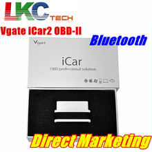 Hot sale Vgate iCar 2 Bluetooth High Quality Vgate iCar 2 Auto OBD2 ELM327 Bluetooth Car Diagnotic Scan Tool With 6 Colors(China)