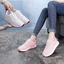 2017 Women Sports Shoes Ladies Running Shoes Sneakers Skateboarding Shoes Low Casual Breathable Women Shoes(China)