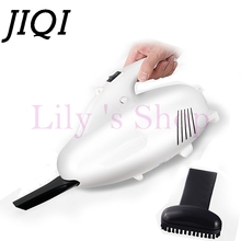JIQI electric Vacuum Cleaner Portable Handheld Mini Super Suction 400W Vacuum sweeper home car aspirator brush dust collector EU(China)