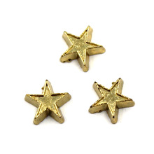 20pcs/lot Free Shipping DIY Fashion Floating Alloy Gold Star Charm For Living Memory Locket
