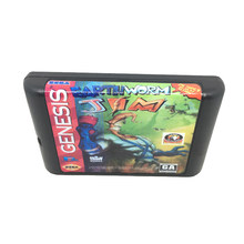 Earth Worm Jim для 16-битного игрового картриджа для Sega Mega Drive/Genesis System EUR/USA Shell(China)