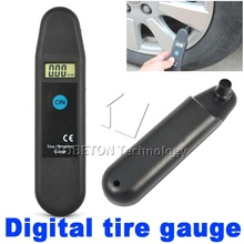 Digital Auto Wheel Tire Air Pressure Gauge Meter Tyre Tester Vehicle Motorcycle Car 5-150 PSI KPA BAR KG CM2 LCD Display(China)