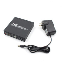 Scart/HDMI to HDMI adapter 720P 1080P HD Video Converter Box with power supply for HDTV DVD STB