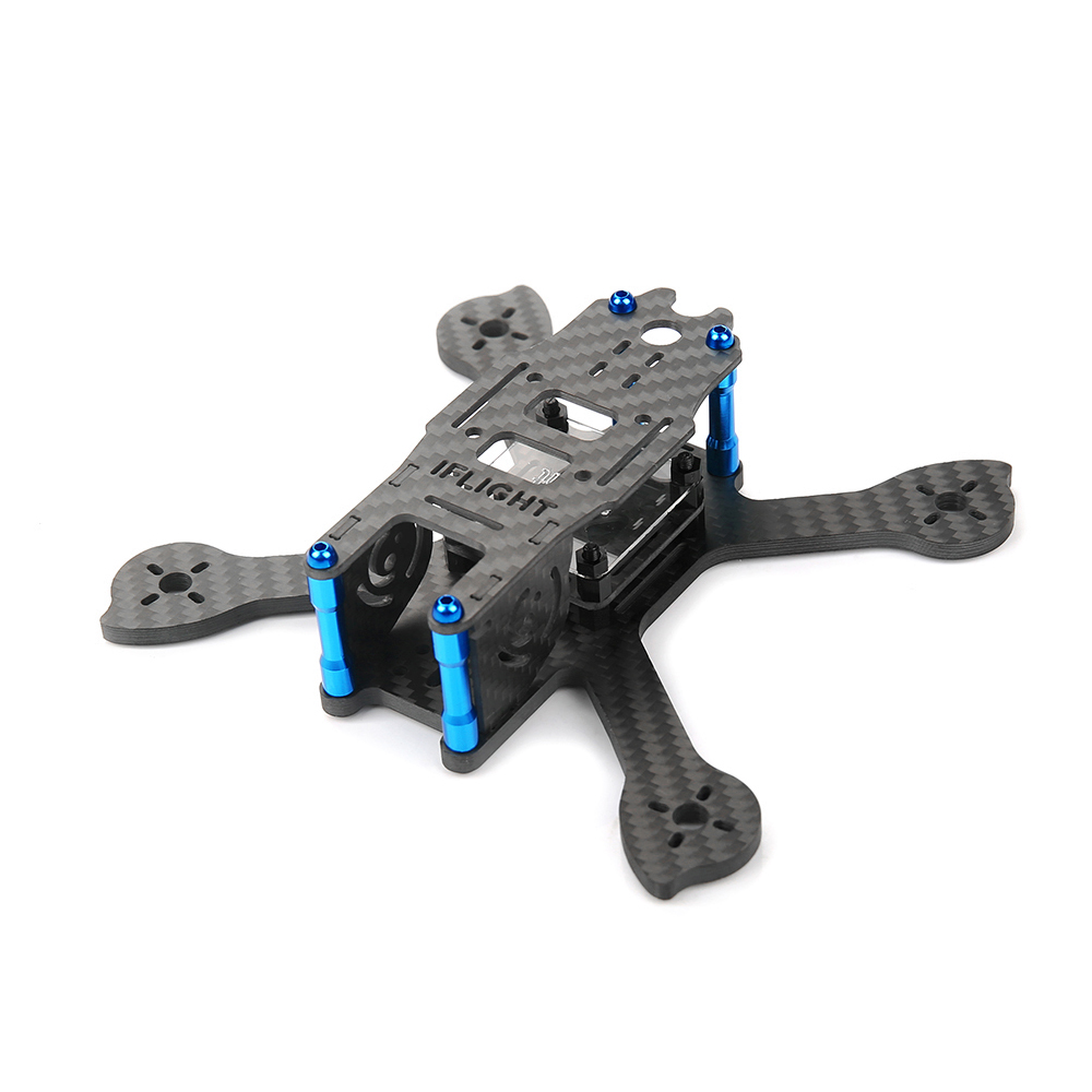 iFlight  iX3 V2  X shape Carbon fiber Mini drone Racing Quadcopter Frame Kit FPV Smallest Quad Super light 140mm wheelbase<br>