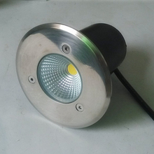 Wholesale price 10W 15W COB LED Buried Light Outdoor PathWay Garden Park Decking Lamp Cool White Waterproof IP68 AC85-265V(China)