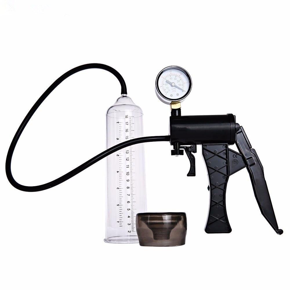 Superior Massage Care For Men Manual Pump Enlarger Enlargement Proextender male Vacuum Erection Assisting Device  <br>