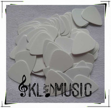 Celluloid white blank guitar picks,good material for multi-color printing,0.71mm to 1.5mm,can use for sublimation(China)