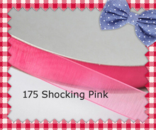 200yards/roll 2.5 Inch (63mm) Shocking Pink / Garden Rose / Azalea / La Rosa / Coral Rose Organza Ribbon For Gift Decoration(China)