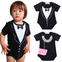 Retail Cartoon Style Baby Girl Boy Summer Clothes New Born Body Baby Ropa Bebe Next Baby Bodysuit
