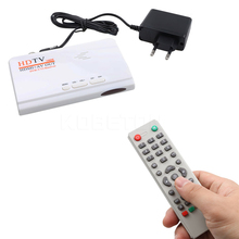 kebidu 1080p HDMI DVB-T/T2 TV Box VGA AV CVBS Tuner Receiver Digital Terrestrial With Remote Control HDMI HD 1080P DVB-T2 TV Box