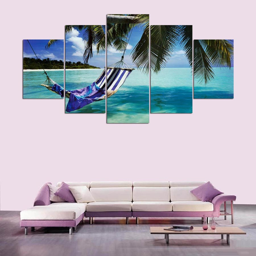 5-Pieces-canvas-art-the-Beautiful-sea-view-scenery-landscape-modular-picture-canvas-painting-for-living (3)
