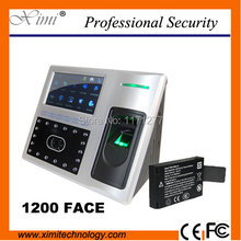 Linux system access control system TCP/IP communication infrared camera built in battery face fingerprint attendance recorder(China)