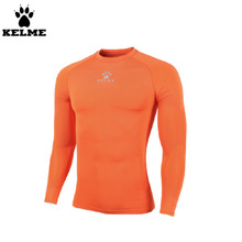 Kelme K15Z734 Kids Pro Thin Long Sleeve Straitjacket Orange(China)