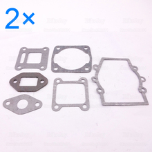 2sets/pack Engine Gasket Set Kit for 47cc 49cc 2 Stroke ATV Quad Go Kart Dirt Pocket Mini Moto Bike Motorcycle Minimoto