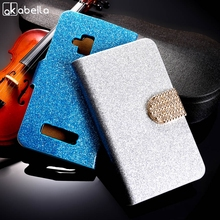 "AKABEILA PU Leather Flip Case Bling  Phone Case Cover For Nokia Lumia 610 N610 3.7 "" Wallet Phone Case Glitter Holster"