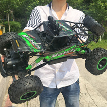 1:12 Large 4WD RC Cars Radio Control LED Light RC Cars Toys for Children 2017 High speed Cars RC Cars Toys for Children Gifts TL(China)