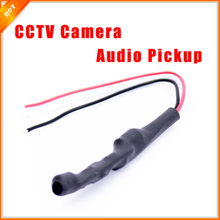 High Quality Mini Type Audio Pickup Microphone Sound Monitor for CCTV System