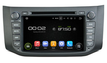 HD 1024*600 Quad Core Android 5.1.1 Car DVD GPS for Nissan Sylphy Sentra B17 2012 2013 Wifi 3G Radio Stereo Free 8GB Map Card